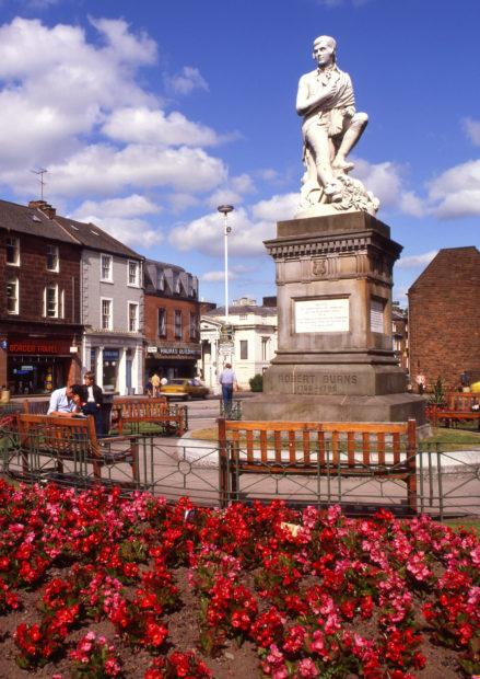 Robert Burns Statue Dumfries
