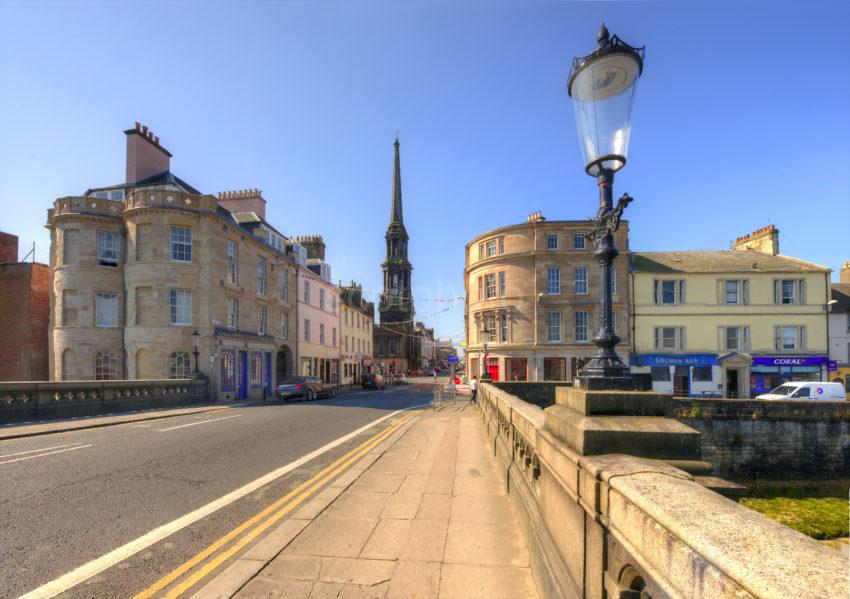 AYR BRIDGE AND TOWN CENTRE