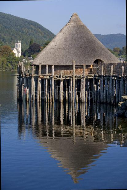 The Crannog On South Side Loch Tay Nr Kenmore Perthshire