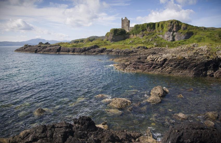 WY3Q5276 Gylen Castle Isle Of Kerrera