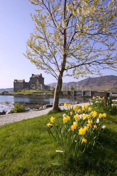 I5D3138 Early Spring At Eilean Donan Castle Loch Duich