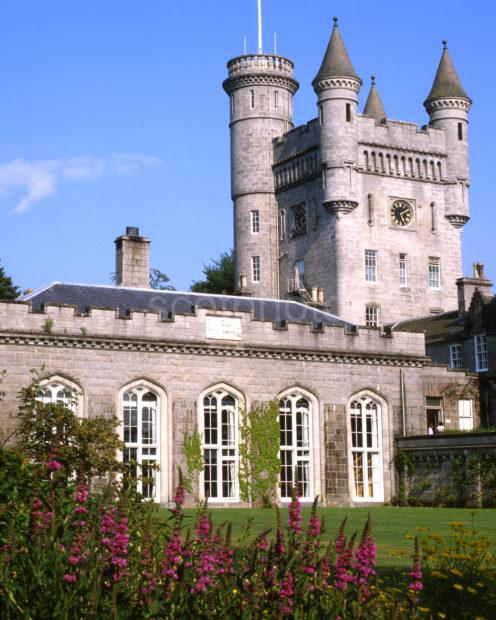 Balmoral Castle In Scots Baronial Style 1856 Prince Albert Aberdeenshire
