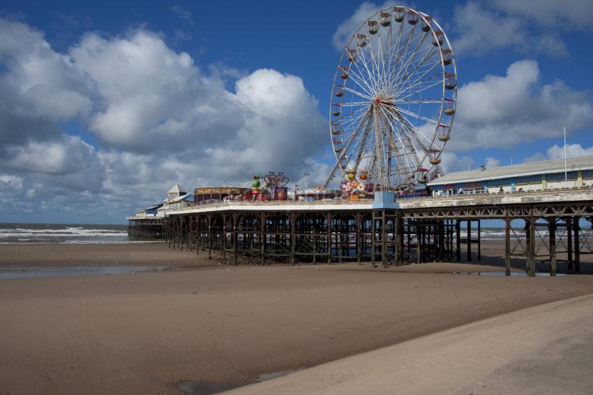 Blackpools Central Pier