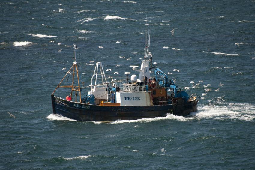 DSC 5927 FISHING BOAT AT SEA