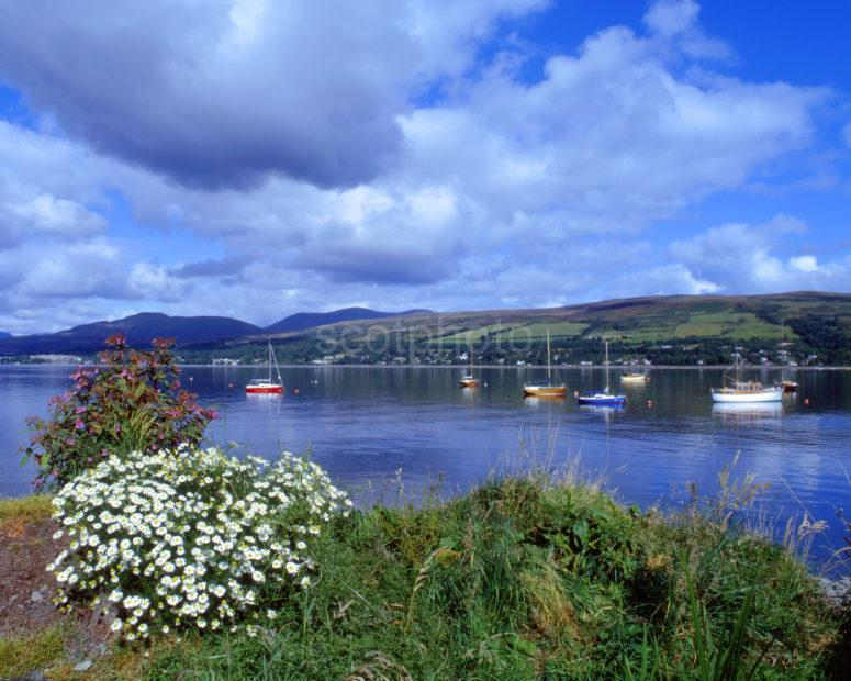 Gareloch On Roseneath Peninsula Clyde