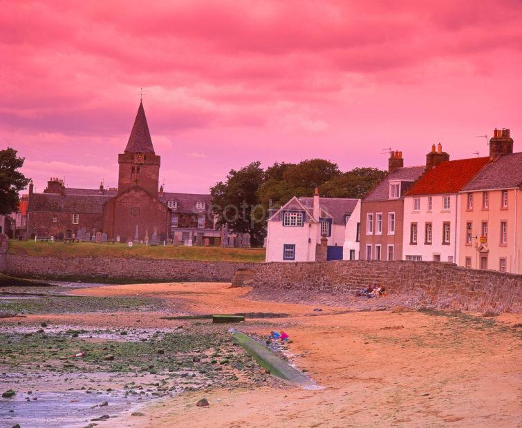 Picturesque And Quaint Fishing Village Of Anstruther Fife