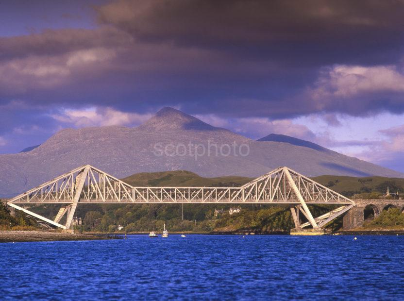 CONNEL BRIDGE AND BEN CRUACHAN
