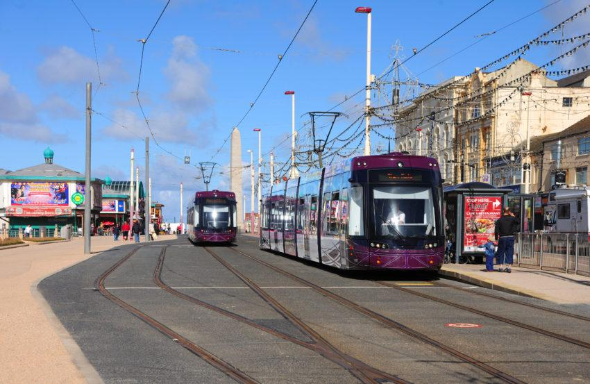 Blackpools New Trams 2012