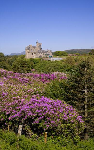 WY3Q8716 Glengorm Castle North Coast Of Mull