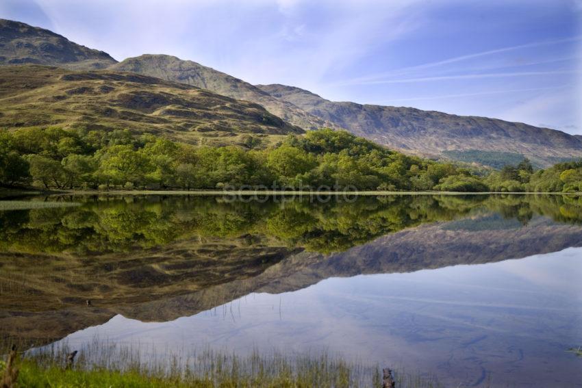 Reflections Loch Creran Argyll