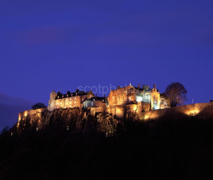 Stirling Castle Floodlit