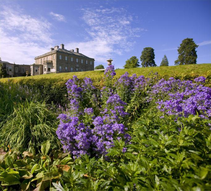 0I5D0313 Haddo House From Gardens Aberdeenshire