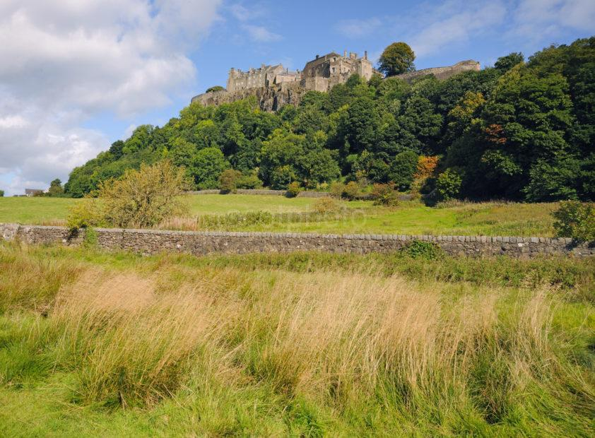 Summer View Towards Stirling Castle