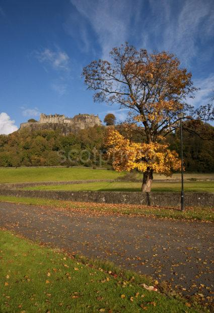 Autumn Portrait Stirling Castle