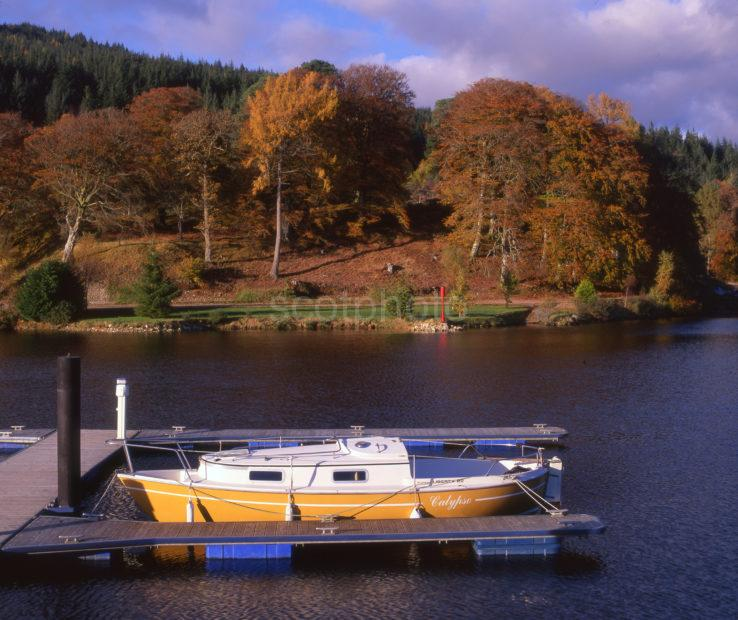 Caledonian Canal At Gairlochy Locks Lochaber
