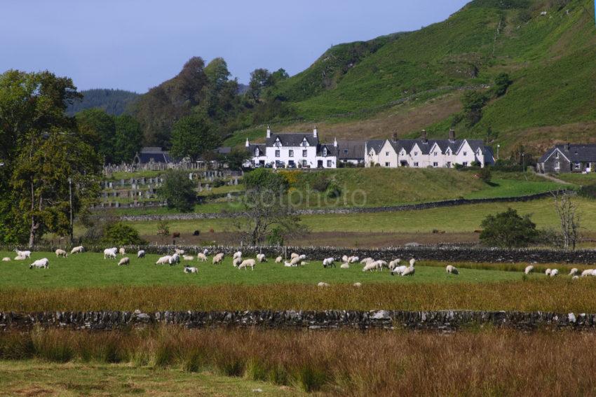Towards Kilmartin Village Fromthe South