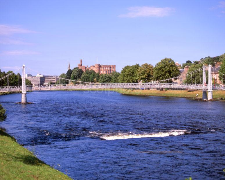 Towards Inverness Castle From The River Ness