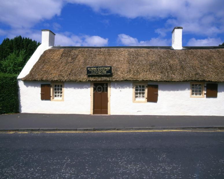 Burns Cottage In Alloway Ayr