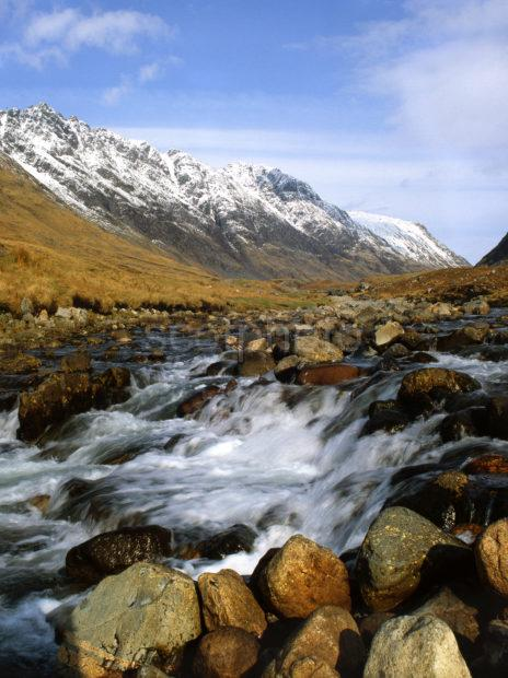 River Coe Glencoe West Highlands