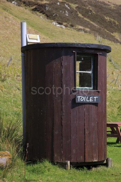 Toilet On Kerrera Nr Gylen