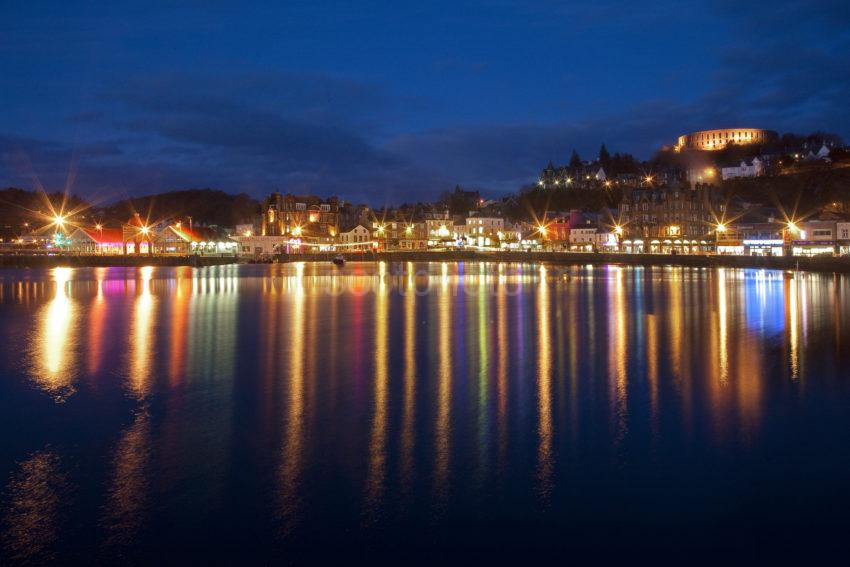 Reflections Across Oban Bay 2013