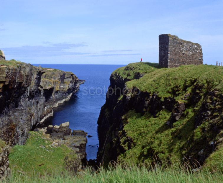 The Old Man O Wick Ruins Nr Wick Bay 12th Cent Ruin Wick Caithness