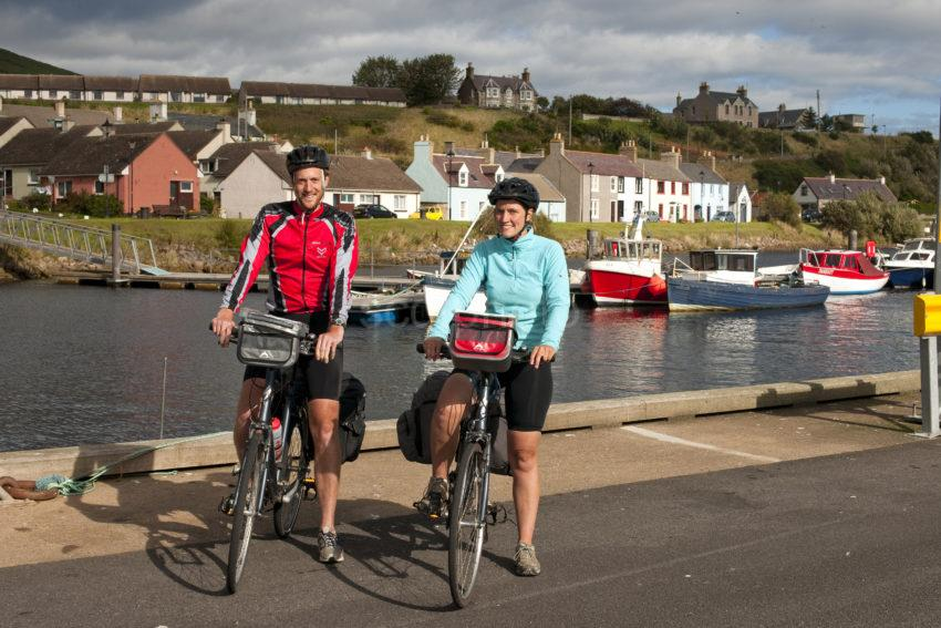 DSC 1513 CHRIS AND SARAH AT HELMSDALE