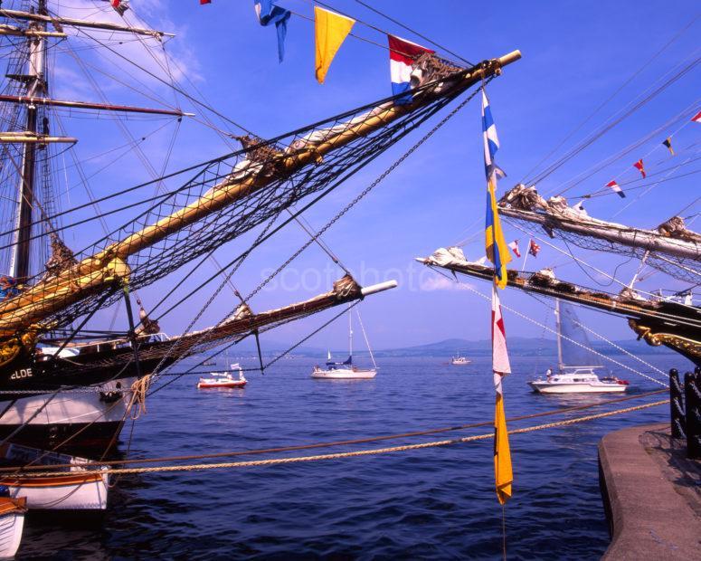 Tall Ships At Greenock