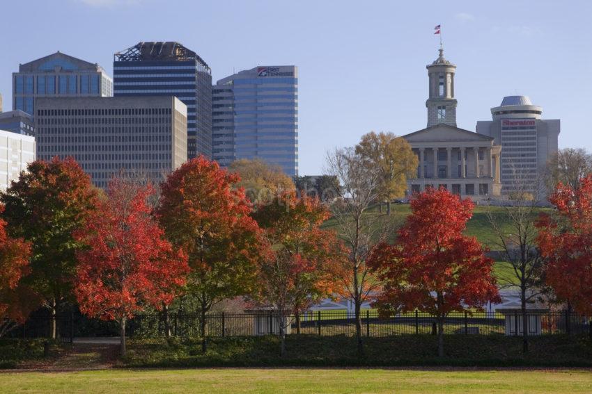 3X8G6913 State Capital Building Nashville TN USA