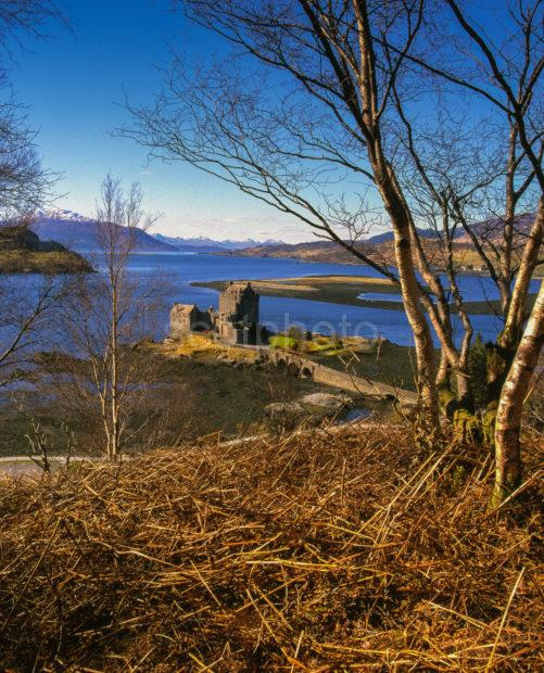 Eilean Donan Castle Loch Duich Winter