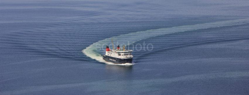 MV Finlaggan Approaching Kintyre