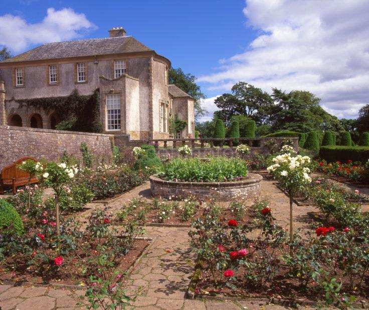 The Hill Of Tarvit House And Garden Situated Near Cupar Fife Scotland