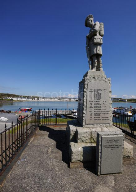 War Memorial Overlooking Port Ellen