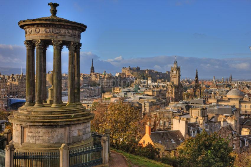 0I5D8916 Edinburgh Skyline