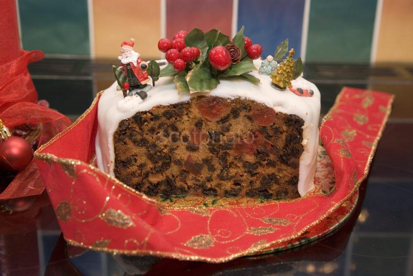 WY3Q0722 Christmas Cake