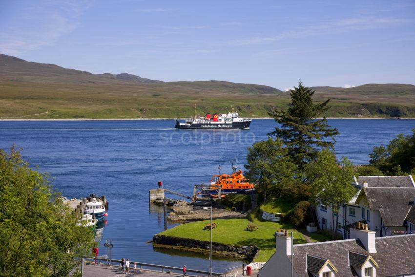 MV Isle Of Arran Passes Port Ascaig Islay