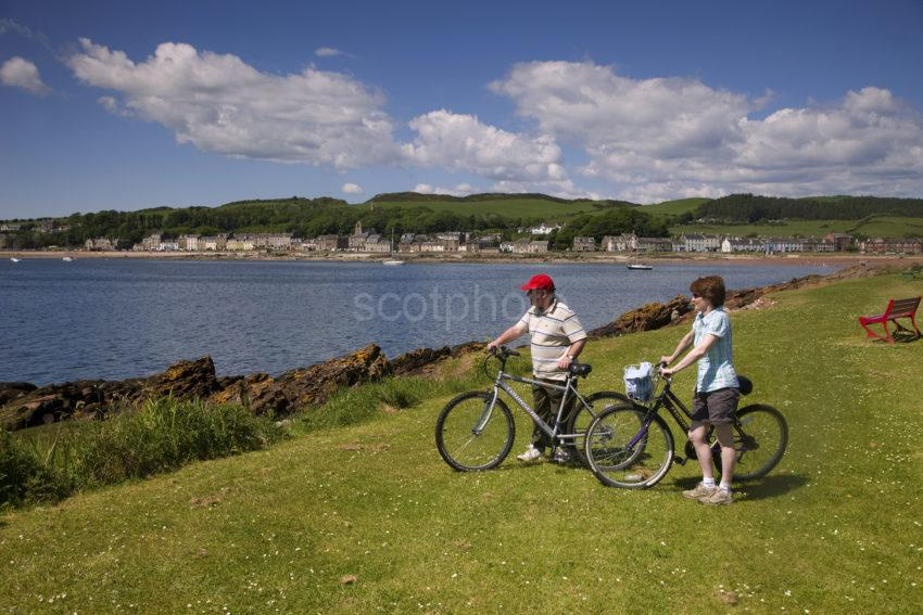 0I5D0149 Isle Of Cumbrae At Millport A Haven For Cycling