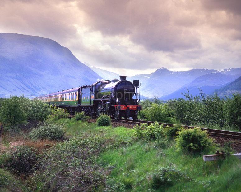 K1 Steam Train Corpach