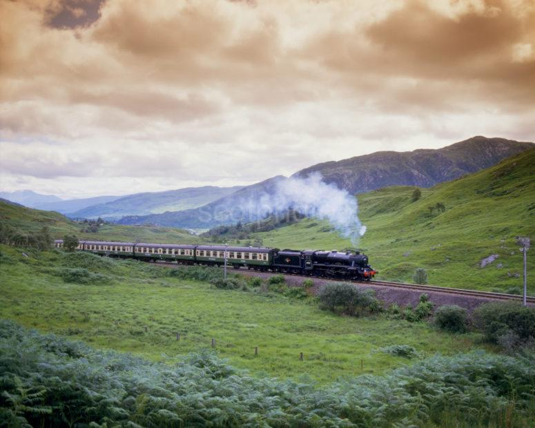 Fort William To Mallaig Steam Service With Old Carraige Livery Black 5