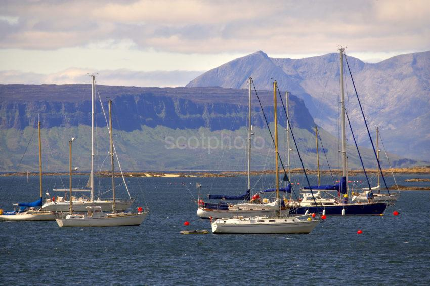 2996 Eigg And Rum From Arisaig