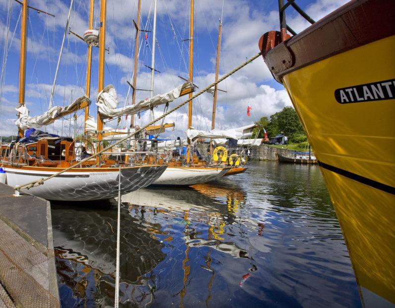 Unusual Angle Yachts Crinan Canal Basin