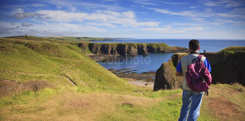 Tunning View From Dunnottar Castle To North 1