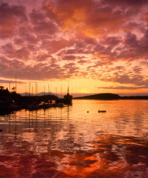 SPECTACULAR OBAN SUNSET ARCHIVE 1970