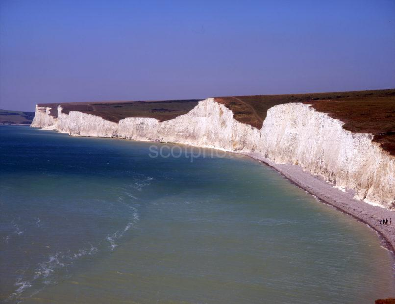 White Cliffs Sussex Coast