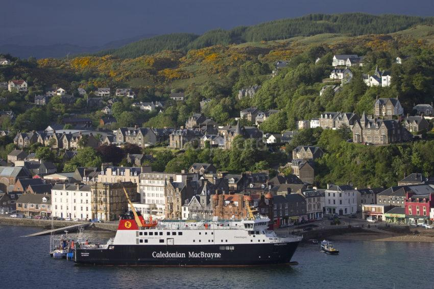 Close Up Of MV Finlaggan At North Pier 22nd May 2011