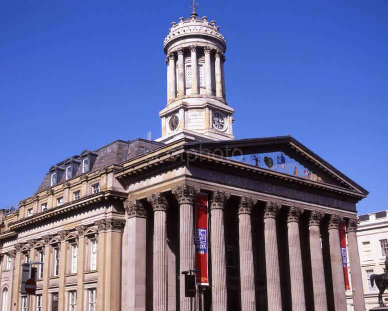 Neoclassical Gallery Of Modern Art Royal Exchange Square City Of Glasgow