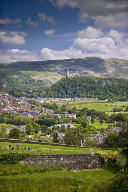Portrait Shot Of Wallace Monument From Stirling Castle WEB 1