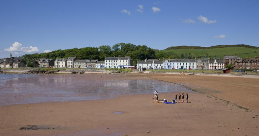 Sands In Millport Great Cumbrae Island