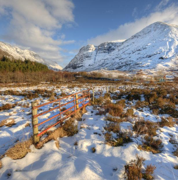 TOWARDS PASS OF GLENCOE WINTER