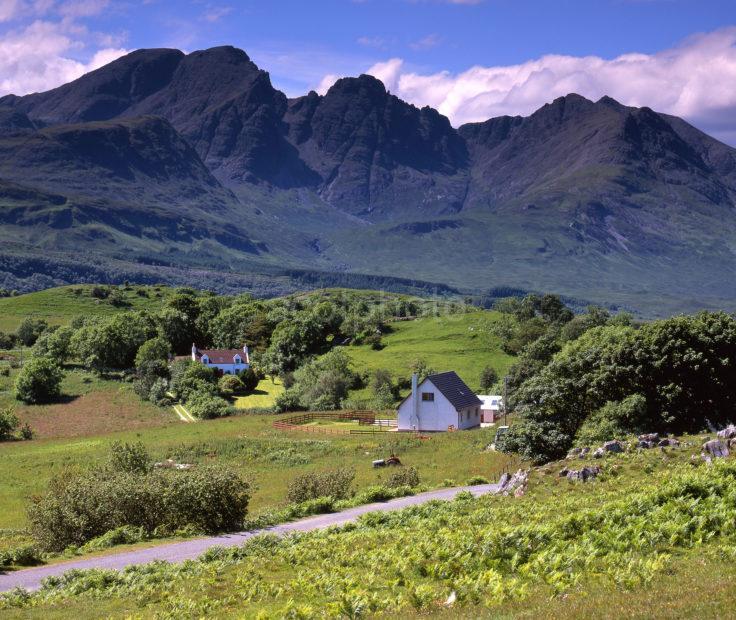 View Towrads Blaven Isle Of Skye S 954
